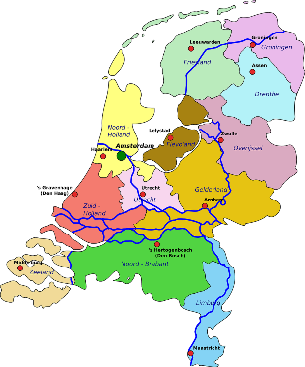 netherlands-provinces-map