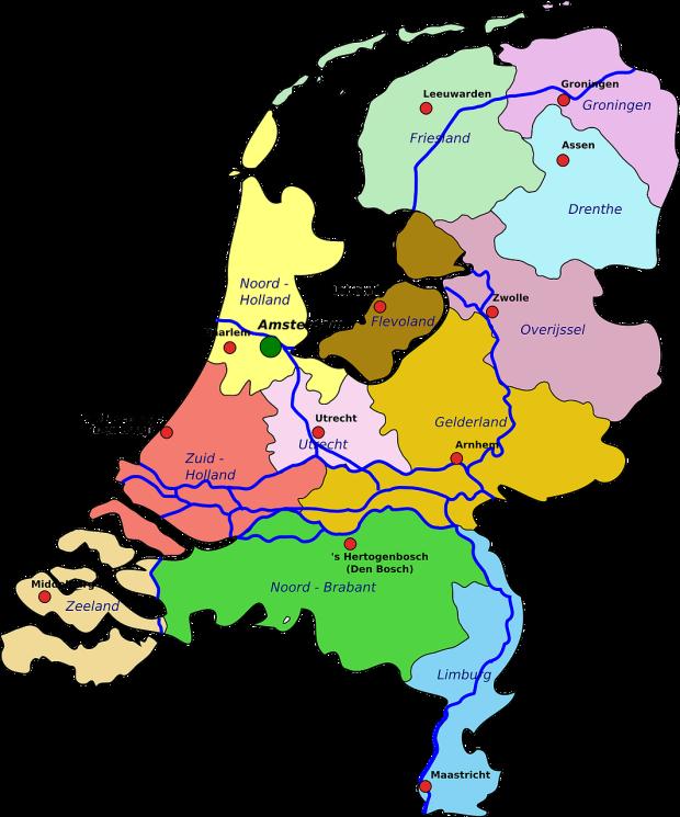 netherlands-provinces-map